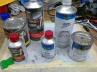 2K paints primers and prep