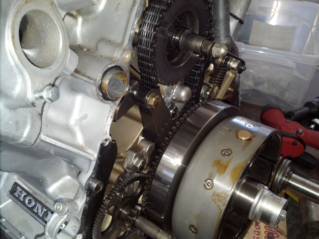 Timing chain CX500