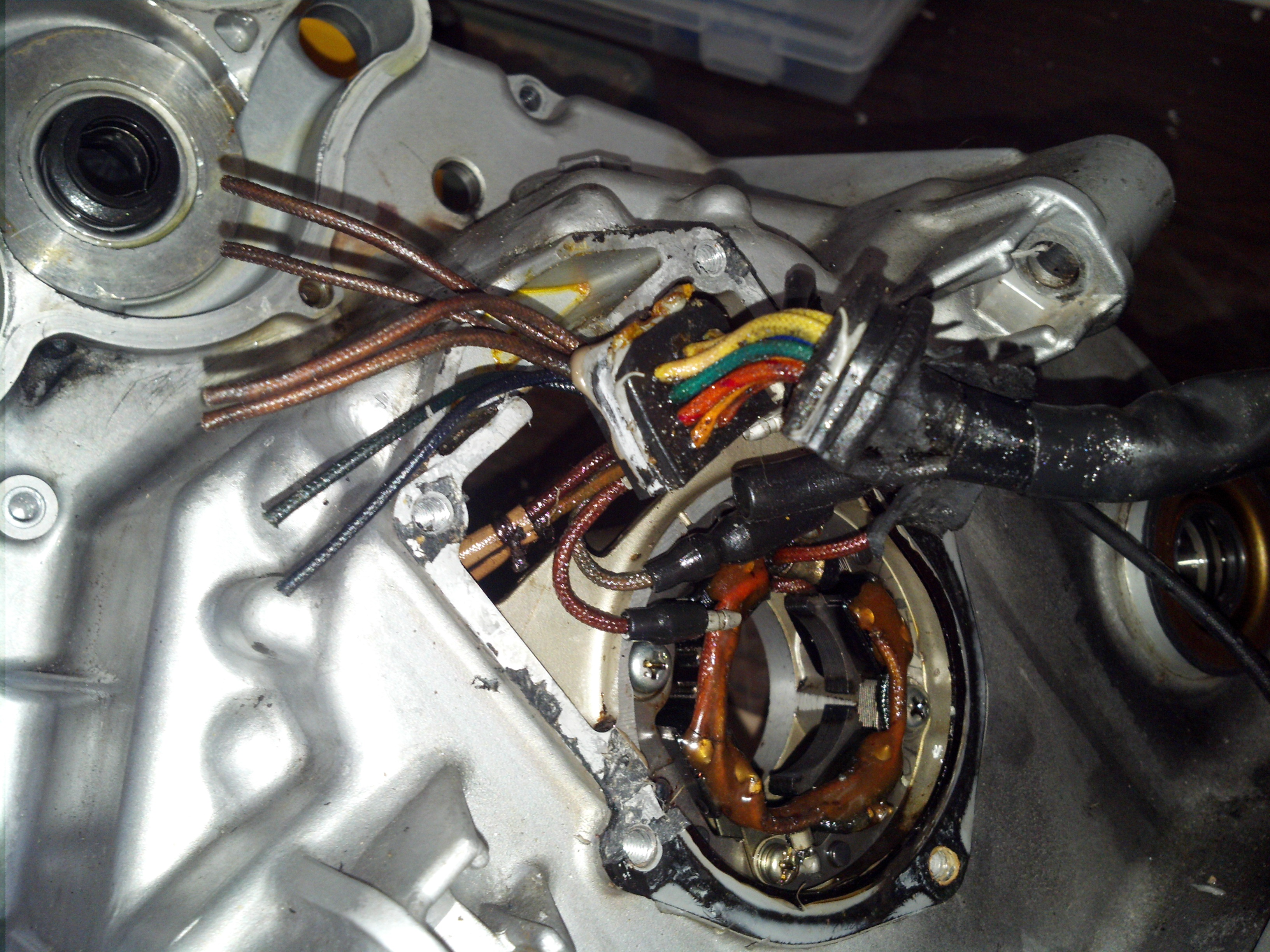 Wiring Harness Cover Repair : Cx stator and seal replacement
